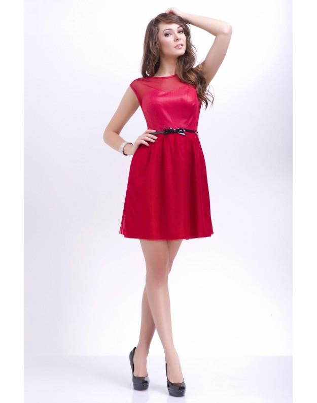"""Vakarinė suknelė """"Yvona"""" (Raudona)"""