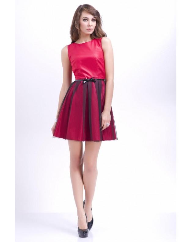 """Suknelė """"Natalija"""" (Raudona)"""