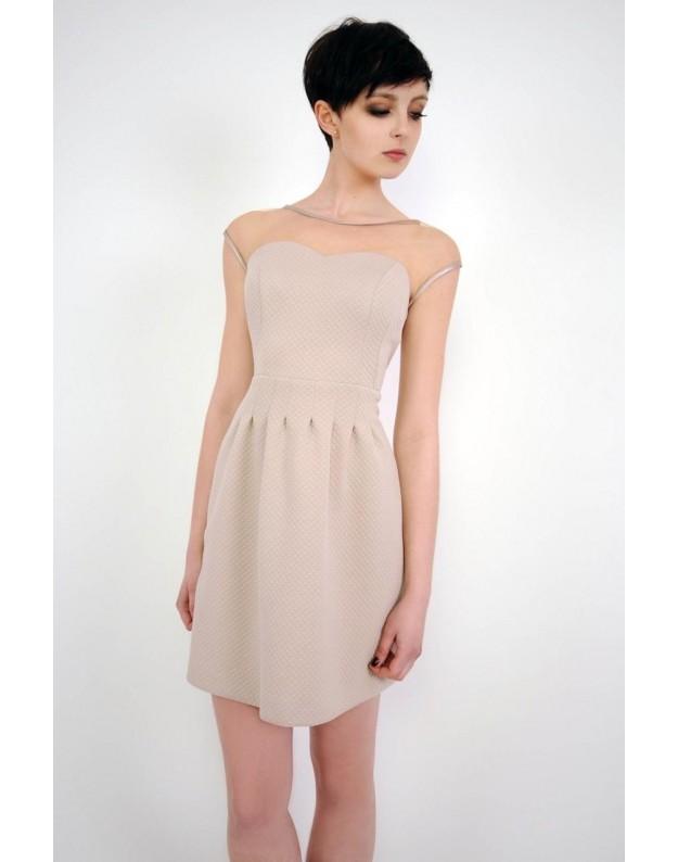 """Suknelė """"Catherine"""" (Smėlio spalvos)"""