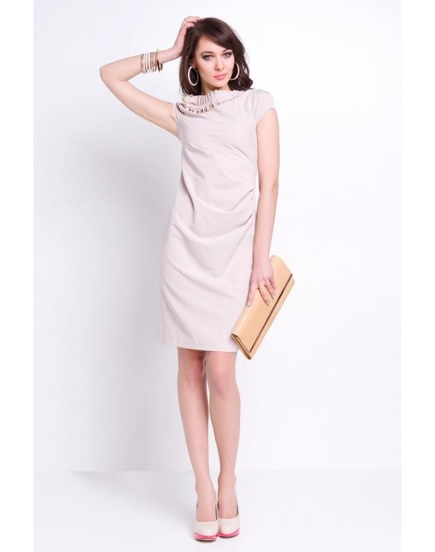 """Suknelė """"Madeline"""" (Smėlio spalva)"""