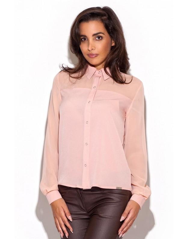 Elegantiški marškinėliai (Rausva)