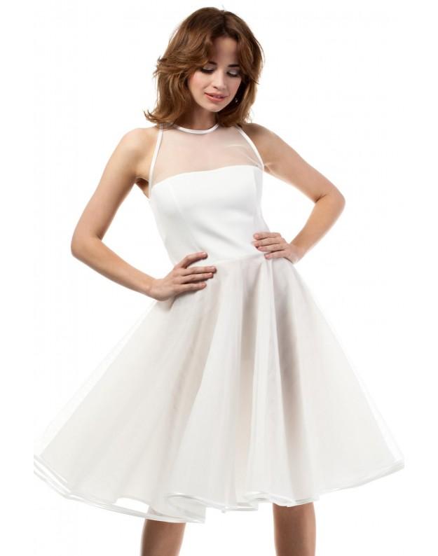 Proginė suknelė (Nebalintos drobės spalva)