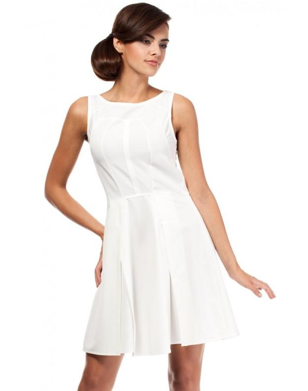 """Suknelė """"Neila"""" (Nebalintos drobės spalva)"""