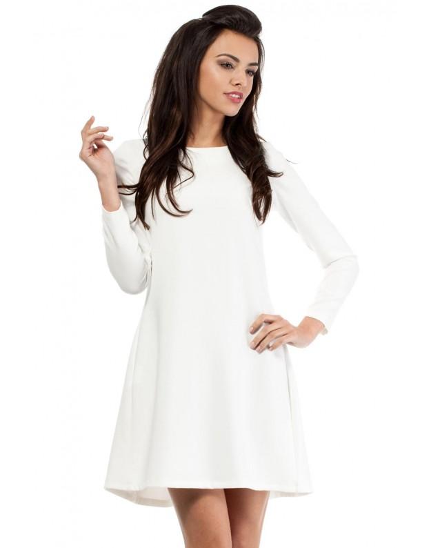 Vakarinė suknelė  (Nebalintos drobės spalva)