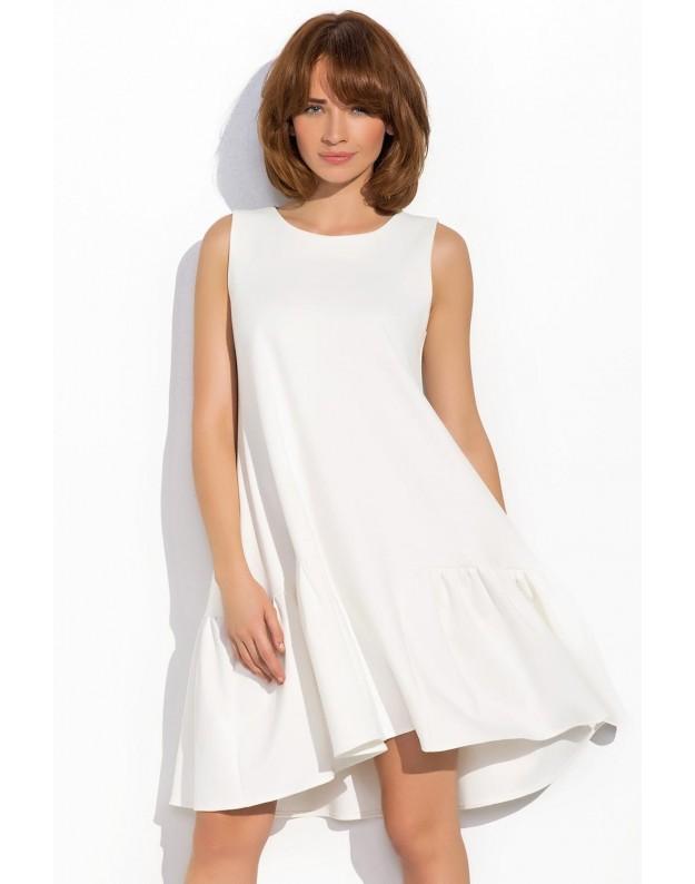 Suknelė Rūta (Nebalintos drobės spalva)