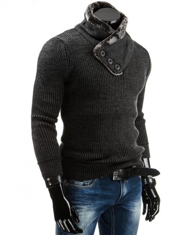Vyriškas megztinis Nojus (Grafito)