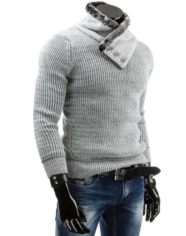 Vyriškas megztinis Nojus (Pilkas)