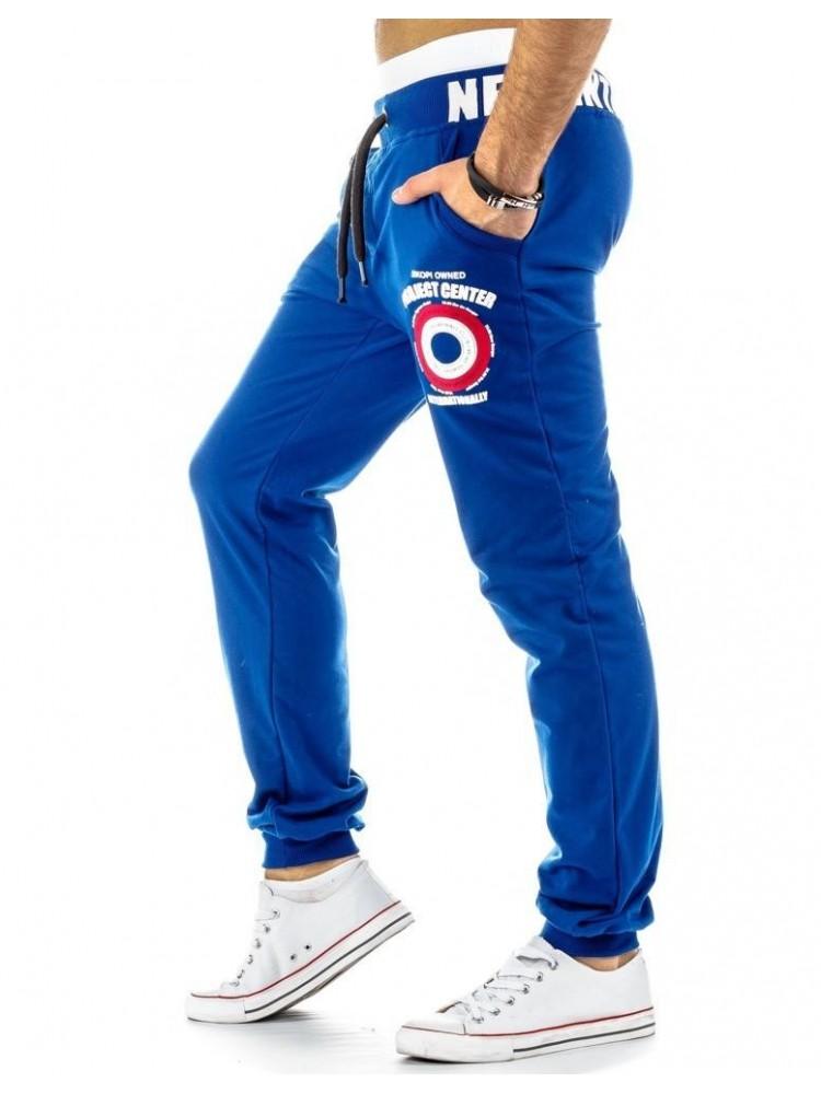 Sportinės kelnės Laurynas (Mėlynos)