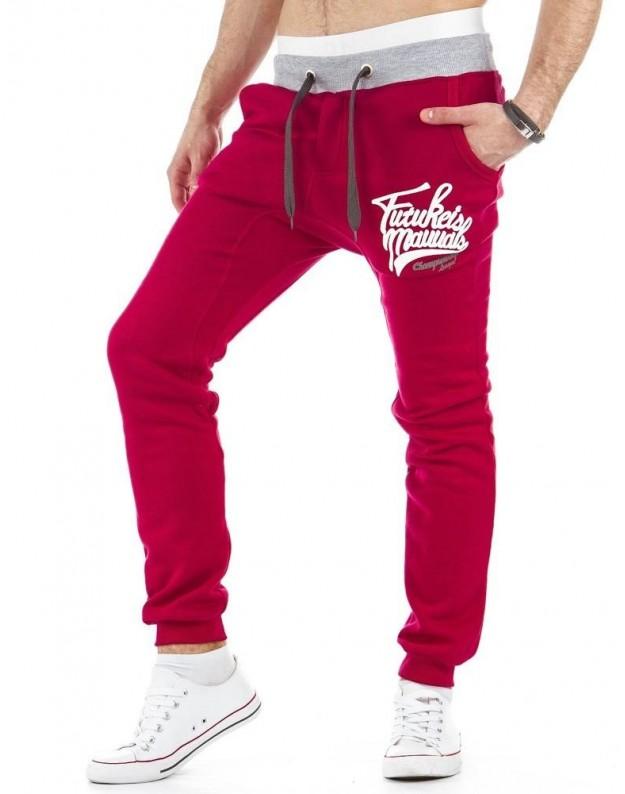 Sportinės kelnės Valentinas (Raudonos)