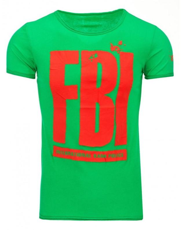Marškinėliai FBI (Žali)