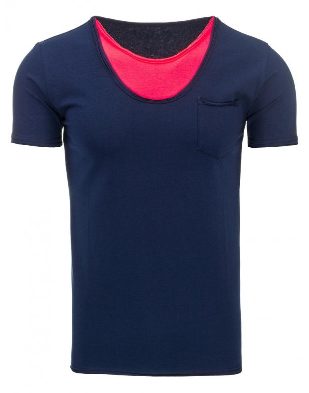 Marškinėliai Alanas (Tamsiai mėlyni)