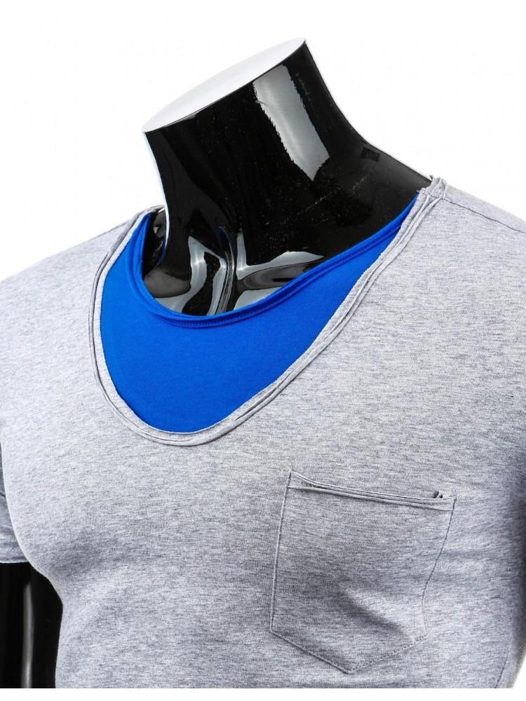Marškinėliai Alanas (Pilki)