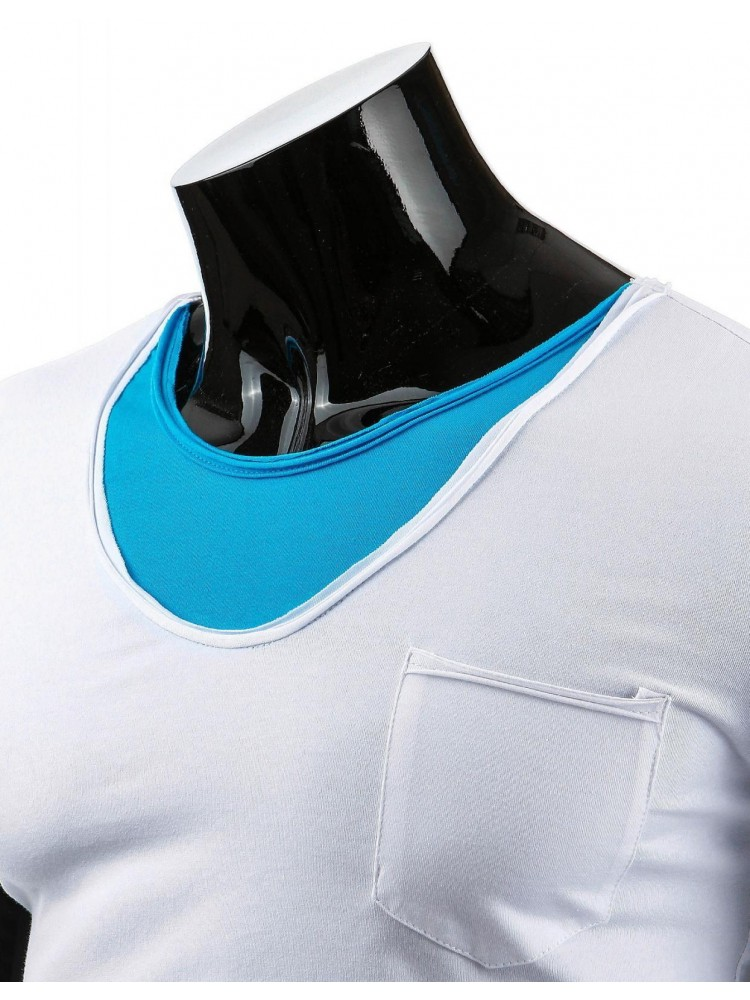 Marškinėliai Alanas (Balti)