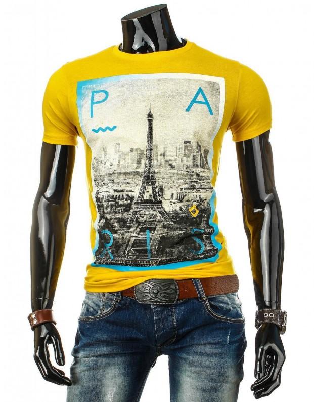 Marškinėliai Mykolas (Geltoni)