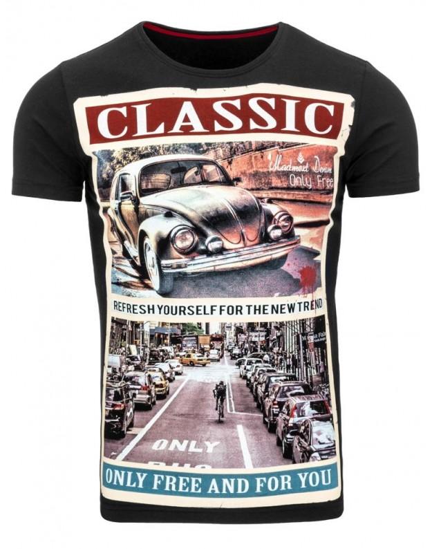 Marškinėliai Classic (Juodi)