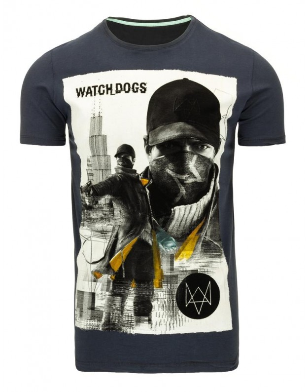 Marškinėliai Denas (Grafito)