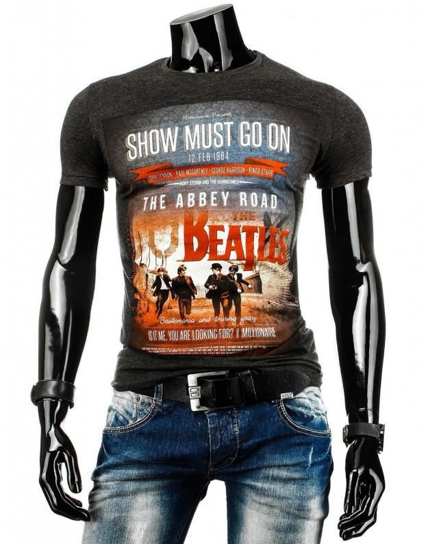 Marškinėliai Beatles (Juodi)