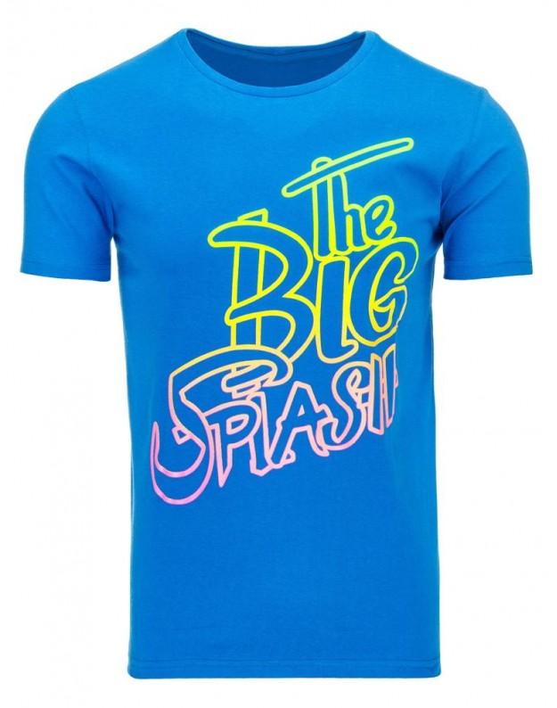 Marškinėliai Splash (Mėlyni)