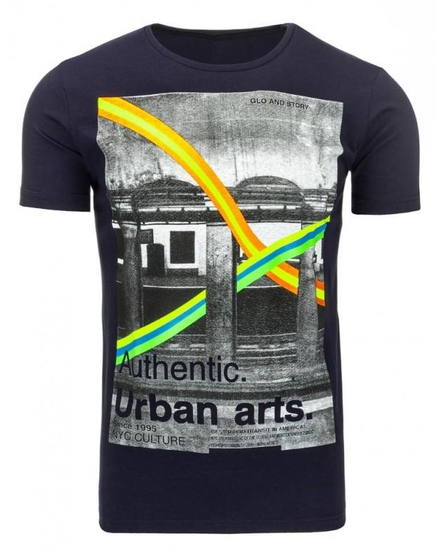 Marškinėliai Ridas (Tamsiai mėlyni)