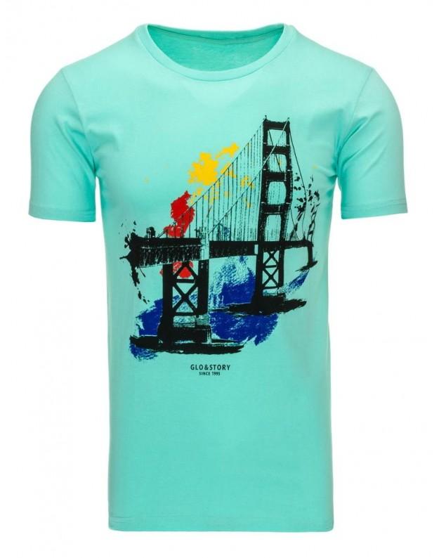 Marškinėliai Rimantas (Mėtų spalvos)