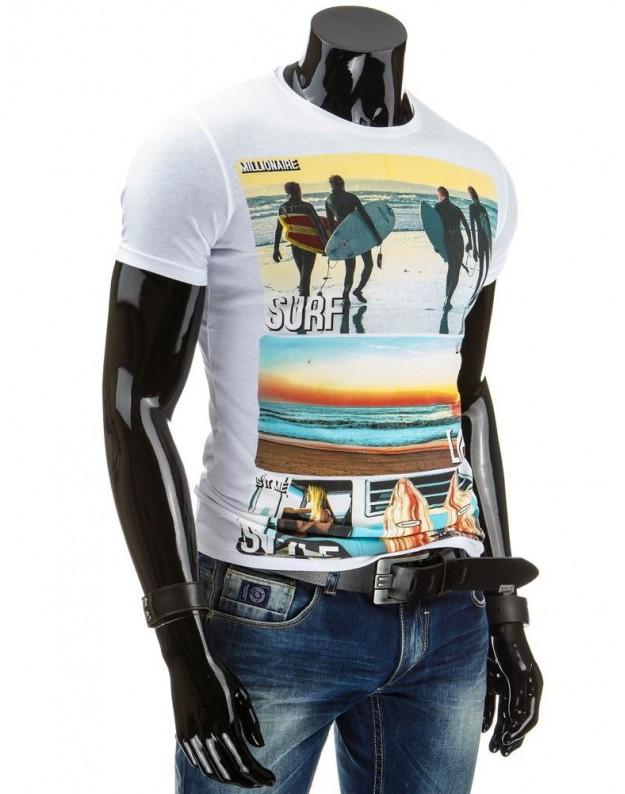 Marškinėliai Pamedas (Balti)