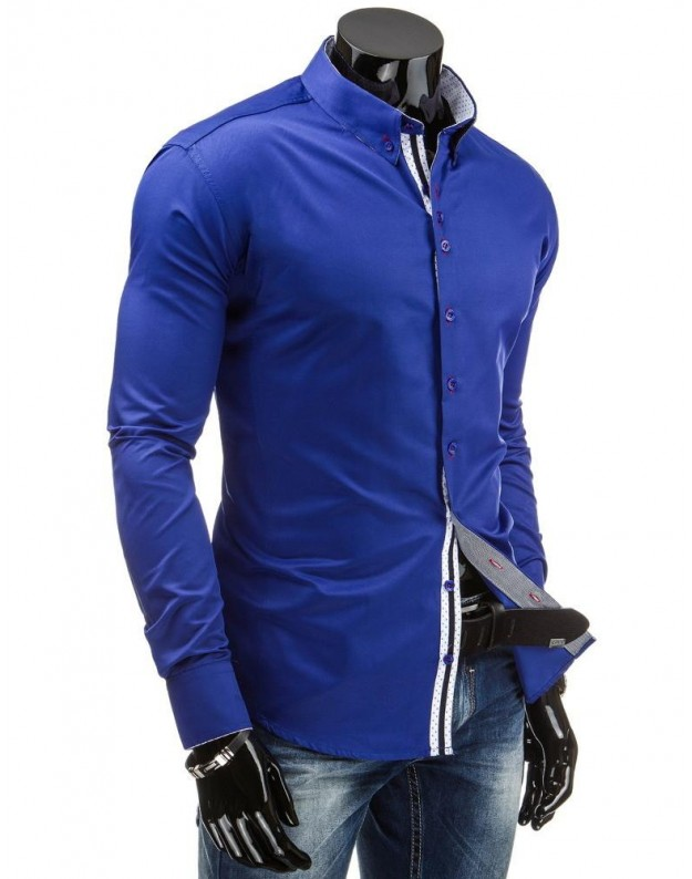 Marškiniai Andrius (Mėlyni)