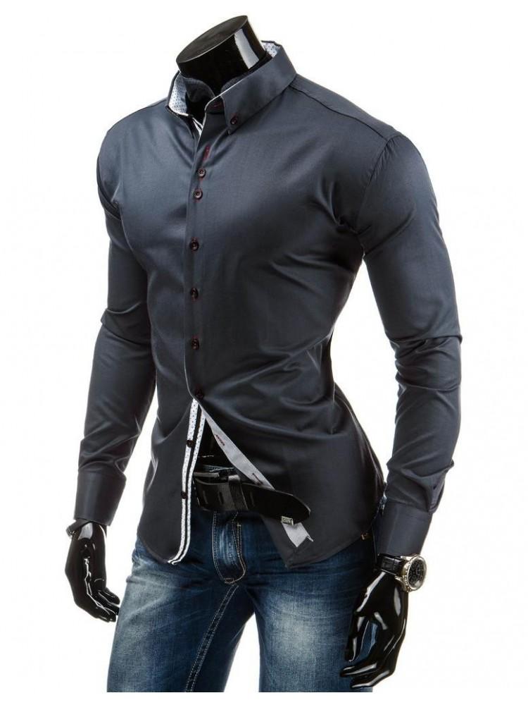 Marškiniai Andrius (Grafito)