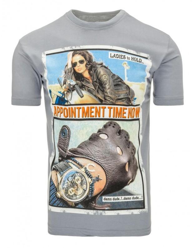 Marškinėliai Tacy (Pilki)