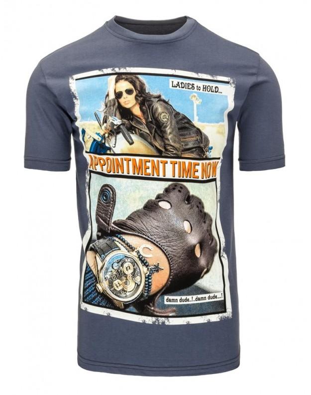 Marškinėliai Tacy (Grafito)