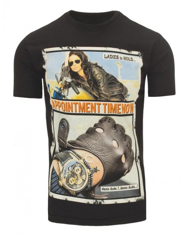 Marškinėliai Tacy (Juodi)