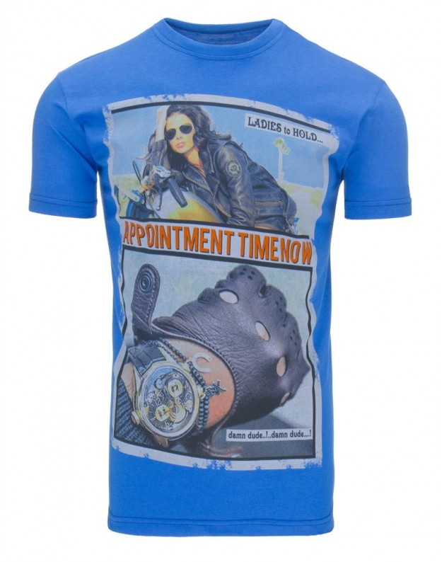 Marškinėliai Tacy (Mėlyni)