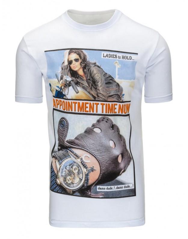 Marškinėliai Tacy (Balti)