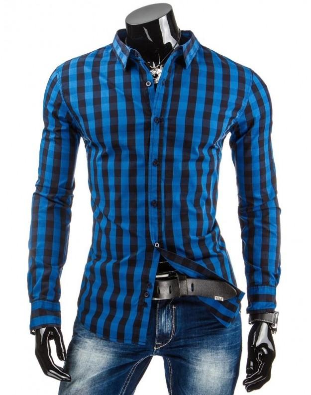 Marškiniai Audrius (Mėlyni)