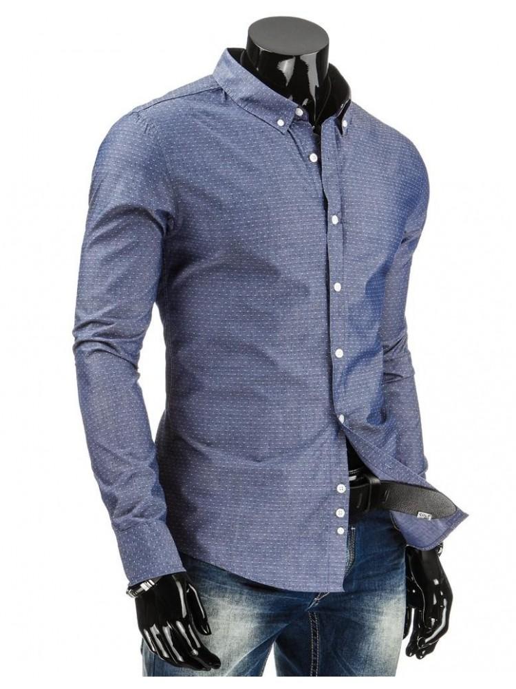 Marškiniai Benas (Mėlyni)
