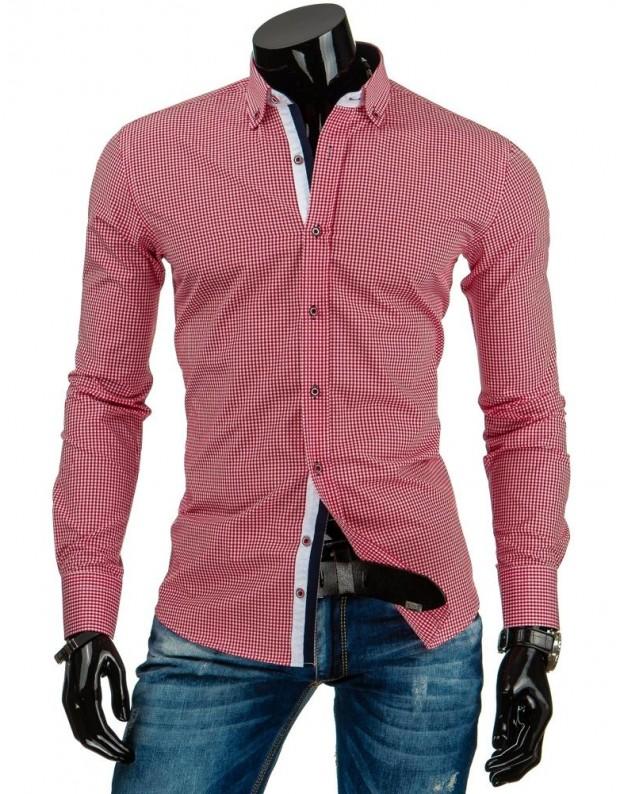 Marškiniai Eimantas (Balta-Raudona)