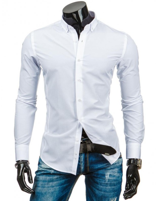 Marškiniai Tadas (Balti)
