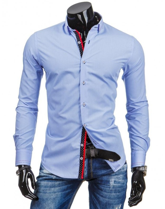 Marškiniai Egidijus (Mėlyni)