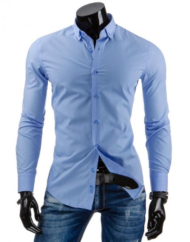Marškiniai Tadas (Mėlyni)