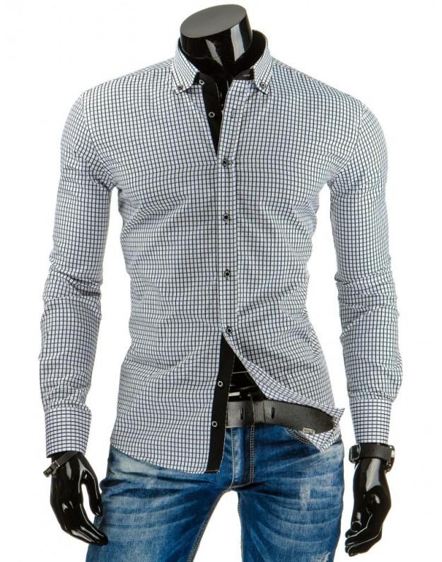 Marškiniai Laurynas (Balta-Juoda)