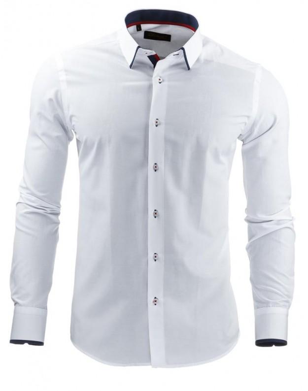 Marškiniai Linas (Balti)