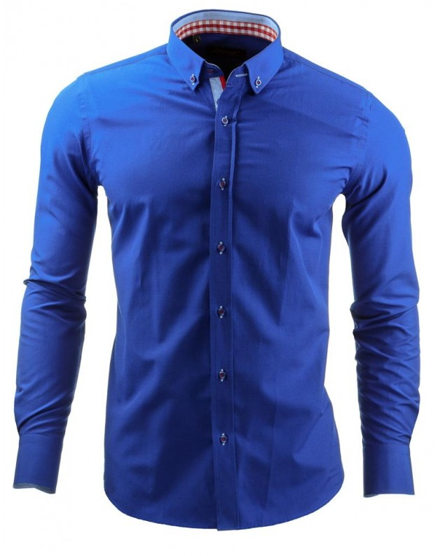 Marškiniai Tautvydas (Mėlyni)