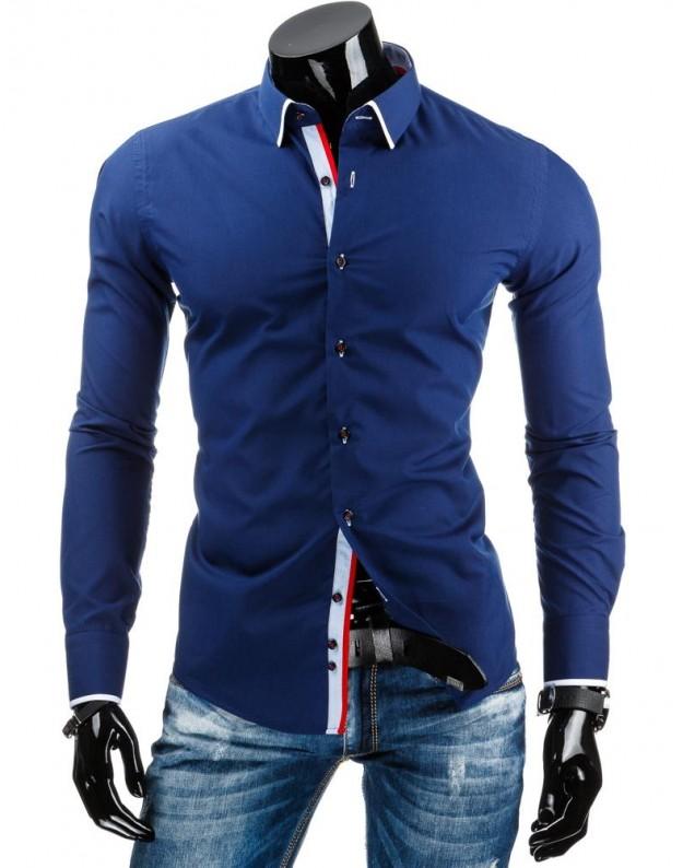 Marškiniai Linas (Mėlyni)