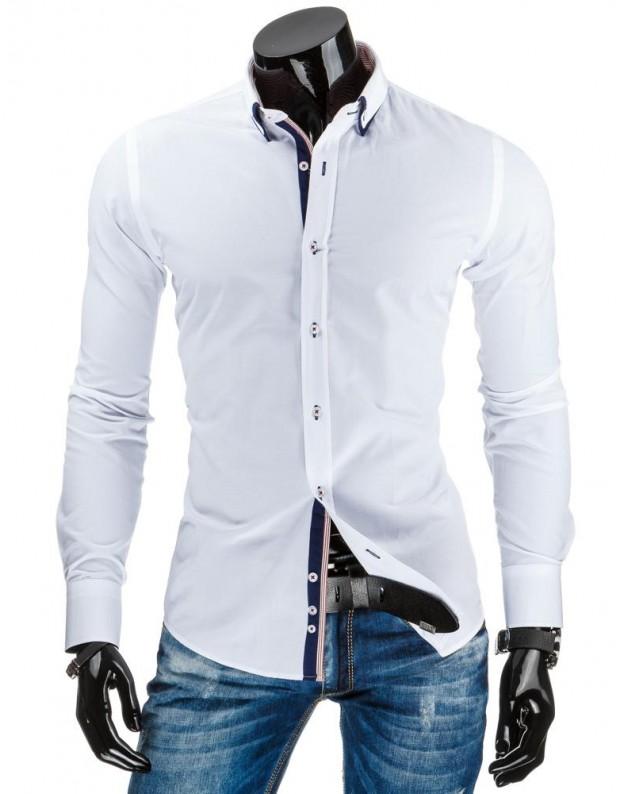 Marškiniai Karolis (Balti)