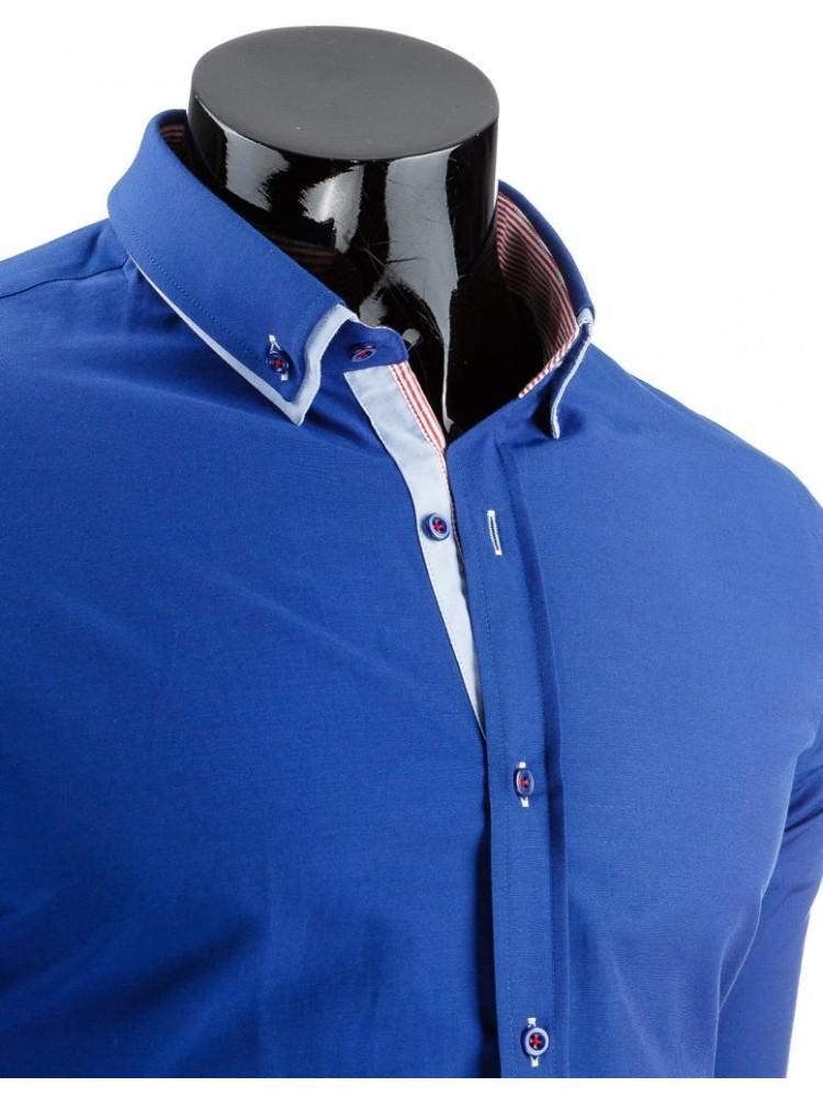 Marškiniai Karolis (Mėlyni)