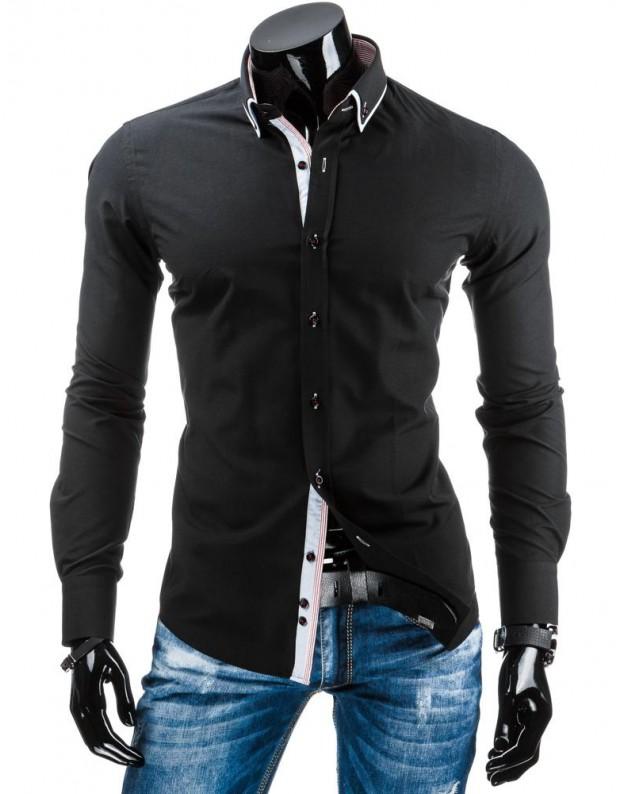 Marškiniai Karolis (Juodi)