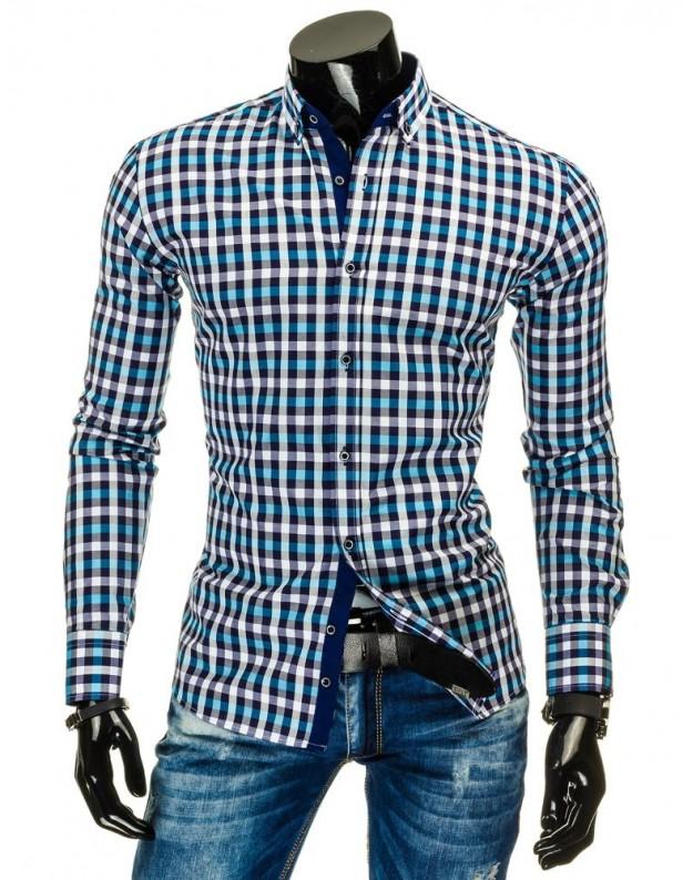 Marškiniai Matas (Mėlyni-Turkio)