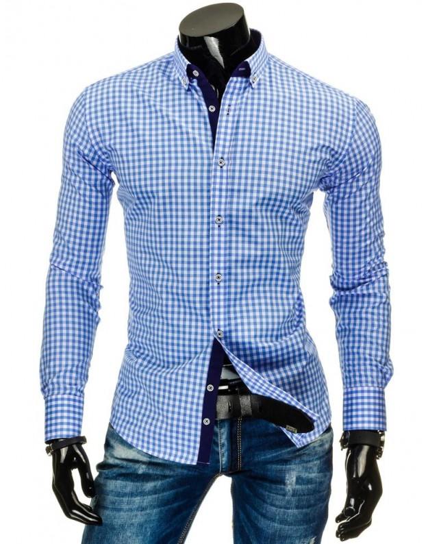 Marškiniai Vilius (Mėlyni)