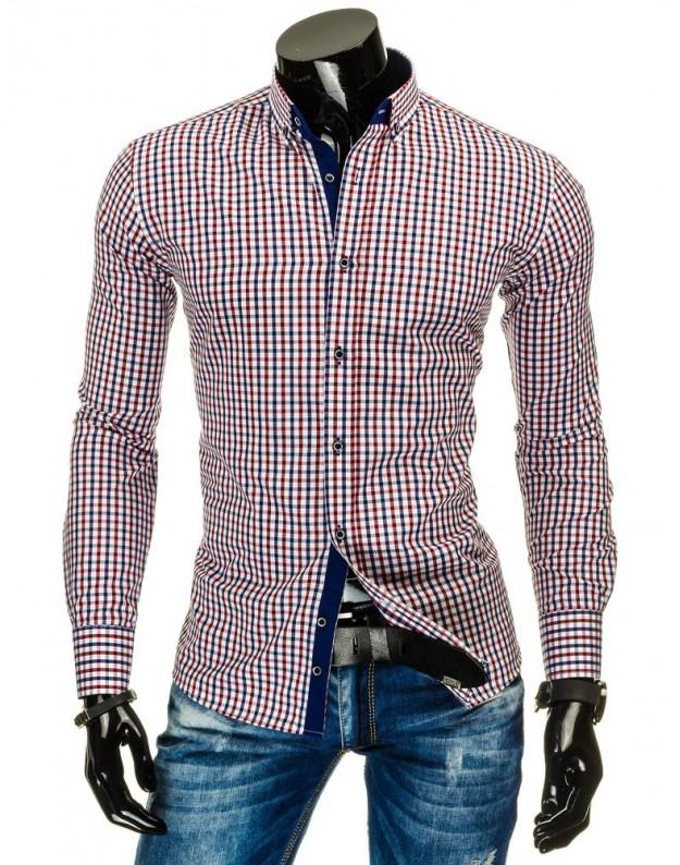 Marškiniai Rapolas (Mėlyni-Raudoni)
