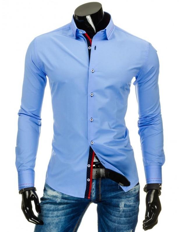 Marškiniai Viktoras (Mėlyni)