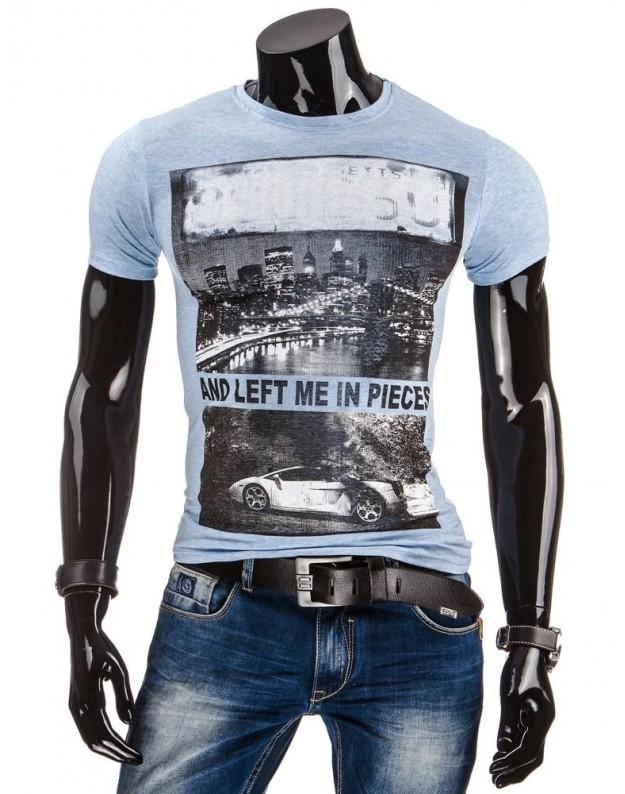 Marškinėliai Denisas (Mėlyni)